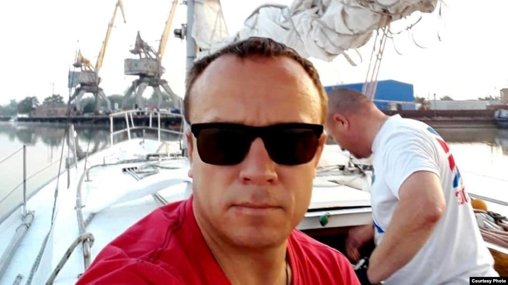 Константин Семенов, один из задержанных в Греции моряков