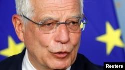 EU High Representative for Foreign Affairs and Security Policy Josep Borrell. FILE PHOTO