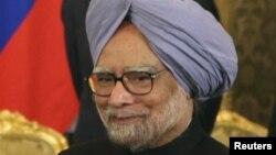 Үндістан премьер-министрі Манмохан Сингх. Мәскеу, 21 қазан 2013 жыл.