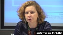 Руководитель офиса Совета Европы в Ереване Наталья Вутова