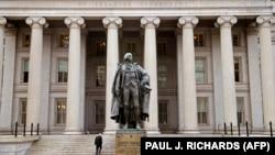 Будынак Міністэрства фінансаў ЗША ў Вашынгтоне