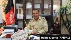 د کندز د امنيې قوماندانۍ د امنیت امر محمد معصومي هاشمي