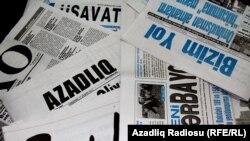 Azərbaycanda qəzetlər, 17 avqust 2011