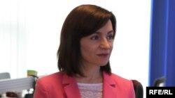 Maia Sandu, lider PAS