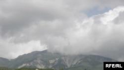 Balakənin dumanlı dağları, sentyabr 2006