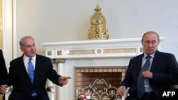 Беньямин Нетаняху ва Владимир Путин сўзлашувлари бошланиши арафасида