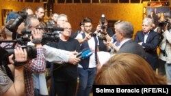 U Art depou Doma mladih u Sarajevu, 7. maj 2012.