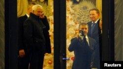 Переговоры трехсторонней контактной группы по Украине в Минске 24 декабря 2014 года.
