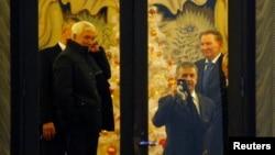 Pamje nga bisedimet për paqe në Minsk