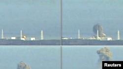 """Відэакадры выбух на трэцім рэактары на АЭС """"Фукусіма-Даічы"""""""
