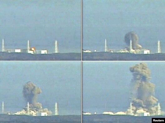 Взрыв на японской атомной электростанции