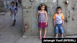 Дети вынужденных переселенцев