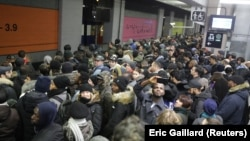 Ֆրանսիա - Գործադուլը Փարիզի մետրոյի ուղևորների համար լուրջ բարդություն է ստեղծել, 10-ը դեկտեմբերի, 2019թ.