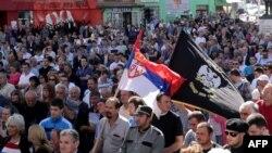 Эти сербы из города Косовска-Митровица не хотят никаких косовских выборов