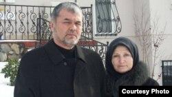 Лидер оппозиции Узбекистана в изгнании Мухаммад Салих и его жена Айдин.