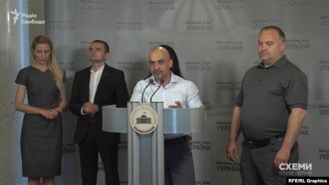 Проти результатів конкурсу виступила і група народних депутатів