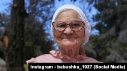 Пенсионерка из Красноярска Елена Ерхова, известная как путешественница баба Лена