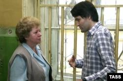 Ольга Старовойтова и Руслан Линьков. Фото 2005 года