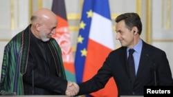 На встрече с французским лидером
