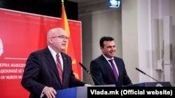 Филип Рикер и Зоран Заев
