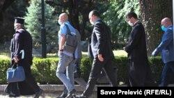 Delegacija SPC stiže na razgovore u Vladu, 20. jula 2020