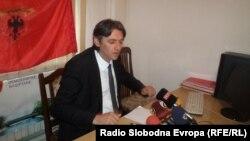 Зијадин Села, градоначалник на Струга.