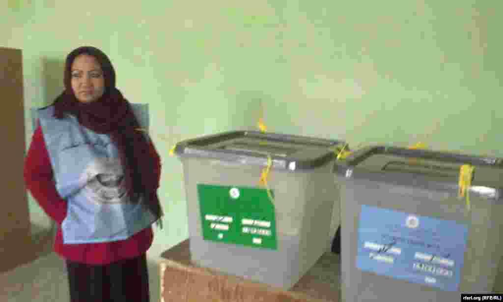 صندوق های رای در کندوز