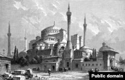 Иллюстрация Святой Софии 1857 года