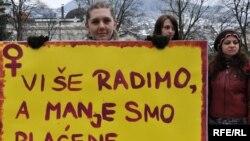 Međunarodni dan žena u Sarajevu, Foto: Midhat Poturović