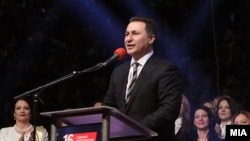 Претседателот на ВМРО-ДПМНЕ Никола Груевски