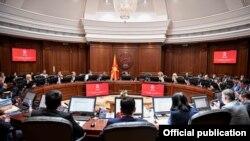 Архивска фотографија- седница на Владата на Република Македонија