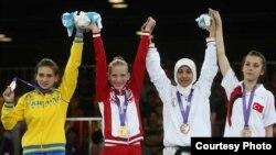 Шукрона Шарифова, варзишгари тоҷик, барандаи медали биринҷии сабқати Сингапур шуд