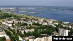 Pamje nga një qytet rus