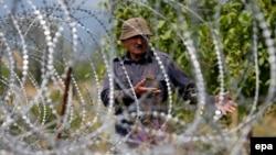 Граница между Грузией и сепаратистским регионом Южной Осетией. Иллюстрационное фото