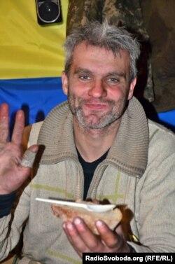 Ігор Брановицький після першої ротації у Донецький аеропорт. 6 грудня 2014 року