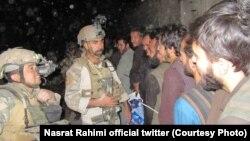 آرشیف، زندانیان رها شده از قید طالبان توسط نیروهای ویژه افغان