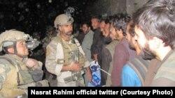 آرشیف، زندانیان رها شده توسط نیروهای افغان