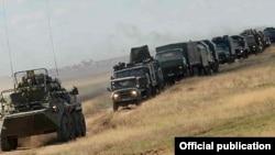 Учения на российской военной базе в Гюмри (архив)