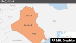 Ирак картасы (Көрнекі сурет).