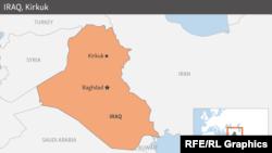 کرکوک سرشار از منابع نفت میباشد، در ۲۹۰ کیلومتری شمال بغداد و ۱۷۰ کیلومتری شمالغرب موصل موقعیت دارد.