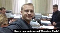 Активіст Віталій Шабунін отримує нову підозру, Київ, 18 січня 2018 року
