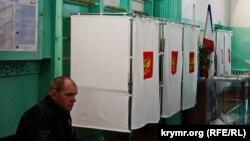 UKRAINE - Russian elections in Simferopol, 18Mar2018