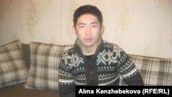 Рауан Жанабек, студент КазНУ. Алматы, 27 февраля 2014 года.