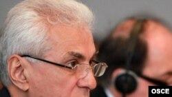 Tajik Foreign Minister Hamrokhon Zarifi