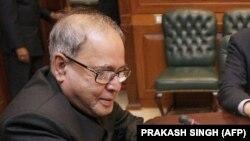 پراناب مُکرجی، رئیس جمهور پیشین هند