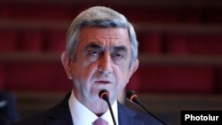 Армения президенті Серж Саргсян.