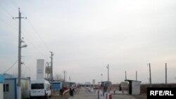 Қазақ-өзбек шекарасы. 2009 жылдың қарашасы.