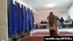 Өзбекстандағы сайлау. (Көрнекі сурет)