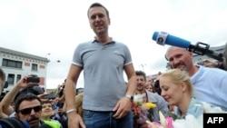 Opposition leader Aleksei Navalny