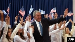 Джордж Буш рассчитывает на интерес Израиля к иранской теме